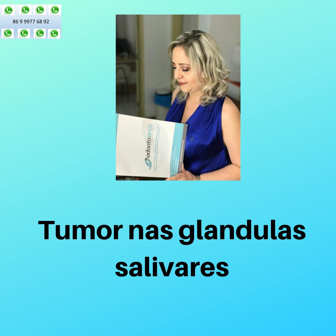 Tumor das glândulas salivares , sinais e sintomas …